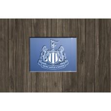 Newcastle FC sandblasted mirror