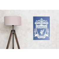 Liverpool FC sandblasted mirror